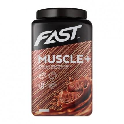 Muscle+ 900 g - Tankkaus ja palautumisjuoma, suklaa