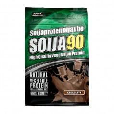 Fast Sports Nutrition Soija90 600 g -  soijaproteiini-isolaatti, suklaa