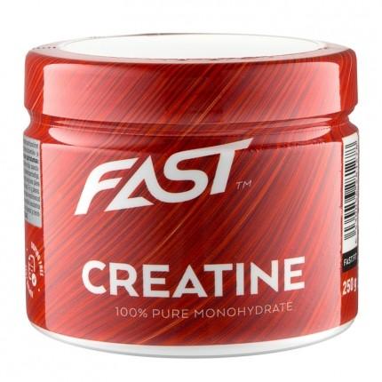 Fast Sports Nutrition Creatine 100 % -kreatiinimonohydraattijauhe