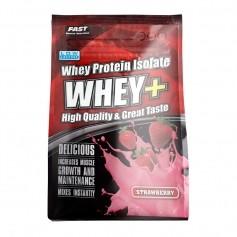 Whey+ 600 g - Korkealaatuinen heraproteiini-isolaatti, mansikka
