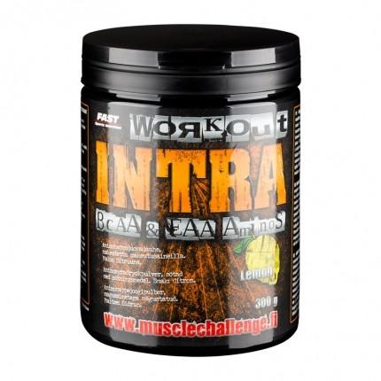 Fast Sports Nutrition Workout Intra 300 g - aminohappojuomajauhe, sitruuna