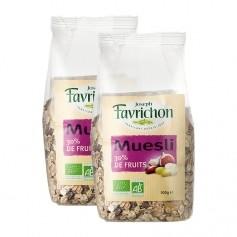 Favrichon Muesli 30% de fruits bio