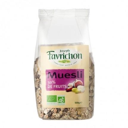 Favrichon, Muesli 30% de fruits
