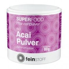 Feinstoff Superfood Acai, Bio-Pulver