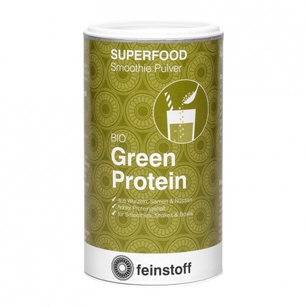 Feinstoff Superfood Green Protein, Pulver