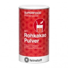 Feinstoff Superfood Rohkakao, Pulver