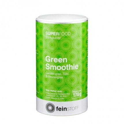 Feinstoff Superfood Bio Green Smoothie, Pulver (170 g)