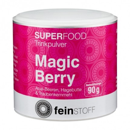 Feinstoff Superfood Bio Magic Berry, Smoothie-Pulver (90 g)