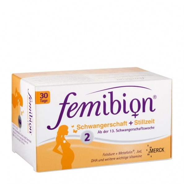 Fembion Pregnancy 2 Tabl Caps Second Trimester