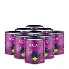 9 x Fine Fruits Acai Eko, pulver