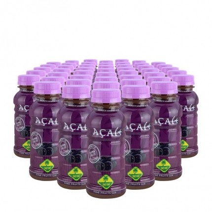 Fine Fruits Club Bio Acai Smoothie (48 x 250 ml)
