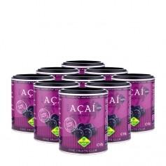 9 x Fine Fruits Acai Bio, Pulver