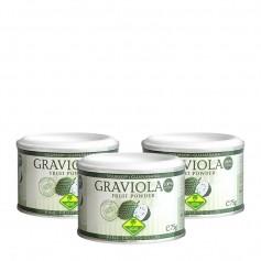 3 x Fine Fruits Graviola, Pulver