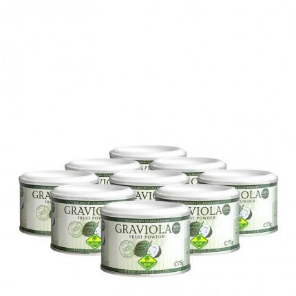 9 x Fine Fruits Graviola, Pulver