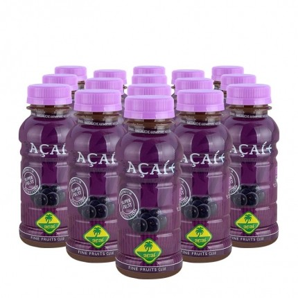 16 x økologisk acai-smoothie