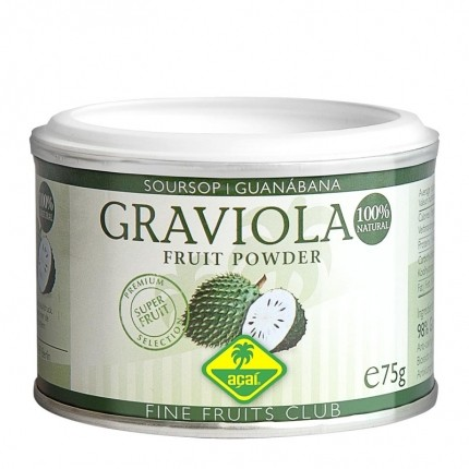 Fine Fruits Graviola-Pulver