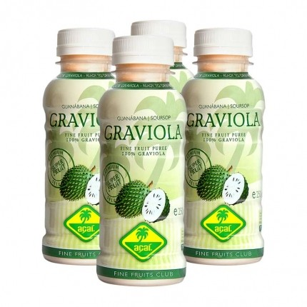 Fine Fruits Club Graviola Smoothie (4 x 250 ml)