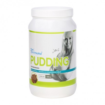 FitFarm Pudding, suklaa