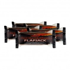 5 x Flapjack med Mörk Choklad och Ingefära