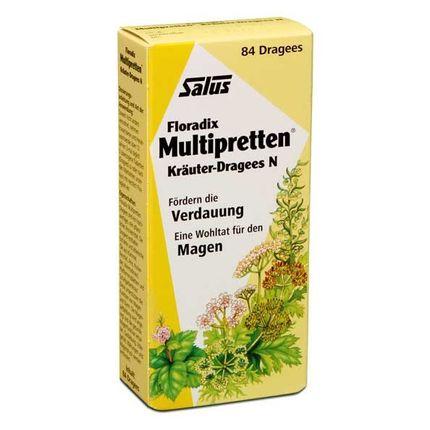 Floradix Multipretten Kräuter N, Dragees