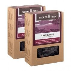 2 x Flores Farm Premium Bio Cranberrys