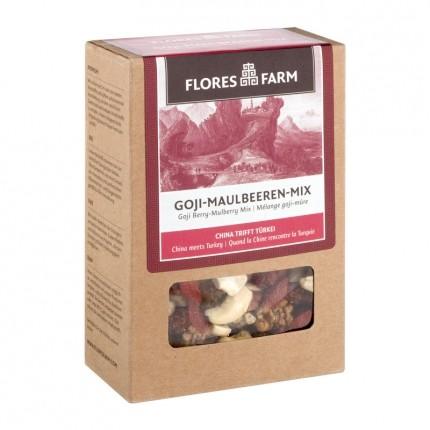 Flores Farm Premium Bio Goji-Maulbeeren-Mix