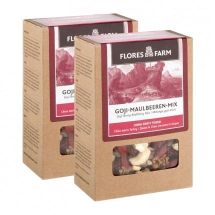Flores Farm Bio Goji-Maulbeeren-Mix
