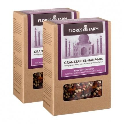 Flores Farm Bio Granatapfel-Hanf-Mix