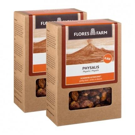 2 x Flores Farm Premium Bio Physalis