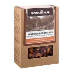 Flores Farm Premium Organic Sea Buckthorn-Chokeberry Mix