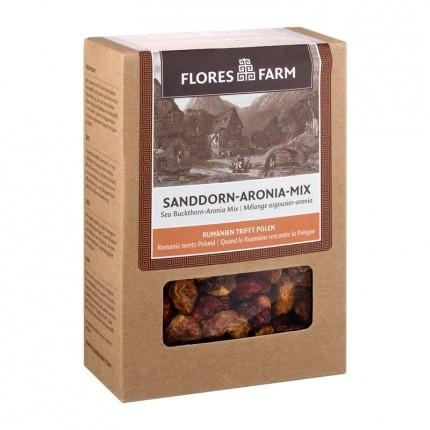 Flores Farm Premium Organic Sea Buckthorn-Chokeberry Mix