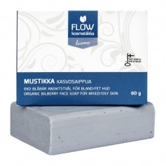 FLOW Mustikka -kasvosaippua