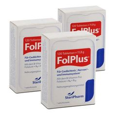 3 x FolPlus, Tabletten