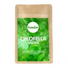 Foodin Foodin - Chlorella-jauhe, Luomu, Raaka, 500g