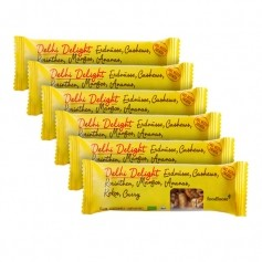 6 x foodloose Delhi Delight Nussriegel mit Kokos & Curry