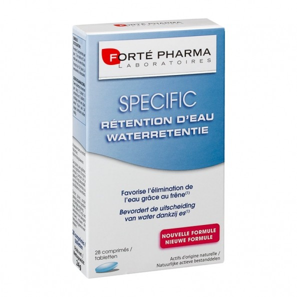 Forté Pharma, Specific rétention d'eau - nu3