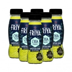 6 x FRIYA Superfood Drink mit Chia-Samen