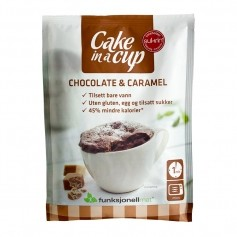 Cake in a cup choklad caramell 65g