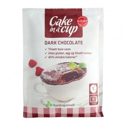 Cake in a cup dark choklad 75g