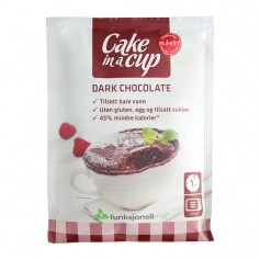 Cake in a cup dark choklad 75g