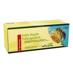 Gelée Royale pollendrikk i små flasker