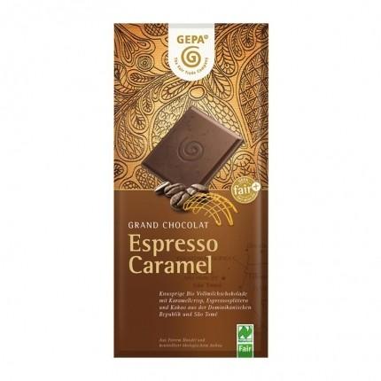 5 x Gepa Espresso Caramel Bio Vollmilchschokolade