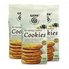 3 x Gepa Bio Honig Nuss Cookies, Kekse
