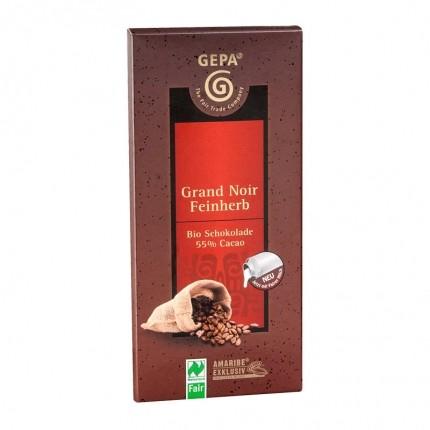 5 x Chocolat noir amère 55% bio de Gepa chez nu3!