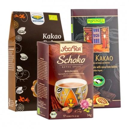 "Bio Geschenkset ""Verrückt nach Schokolade"