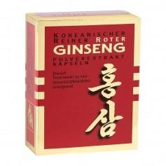 Ginseng Pur Koreanischer Roter Ginseng 500 mg, Kapseln
