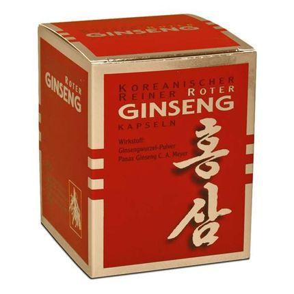 Ginseng Pur Koreanischer Roter Ginseng 300 mg, Kapseln