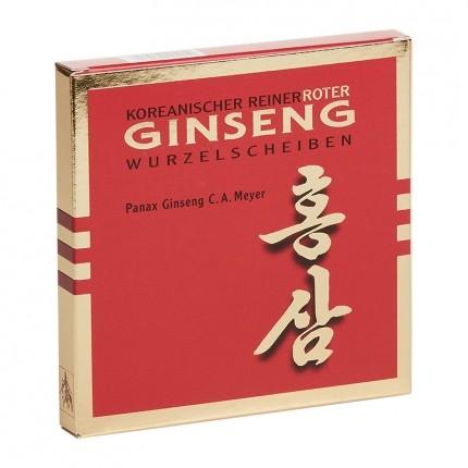 Ginseng Pur, Pur ginseng rouge de Corée, racines en tranches