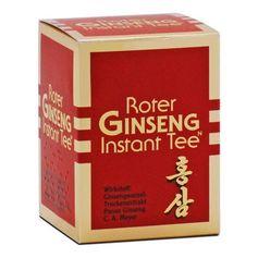 Thé instantané au ginseng rouge pur