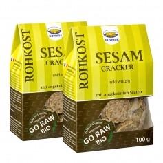 2 x Govinda Bio Sesam-Cracker